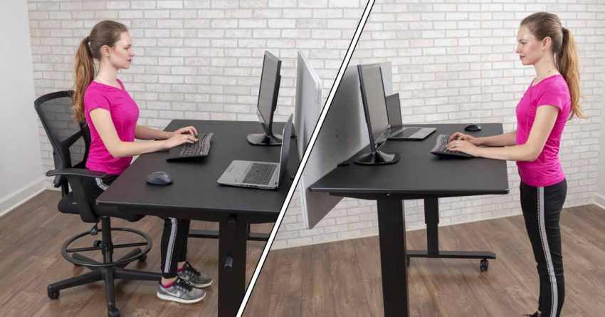 The Sit Stand Desk - Be Flexible at Work