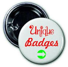unique badges